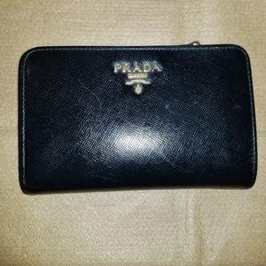 "Prada wallet 5.5""x3.5""H"